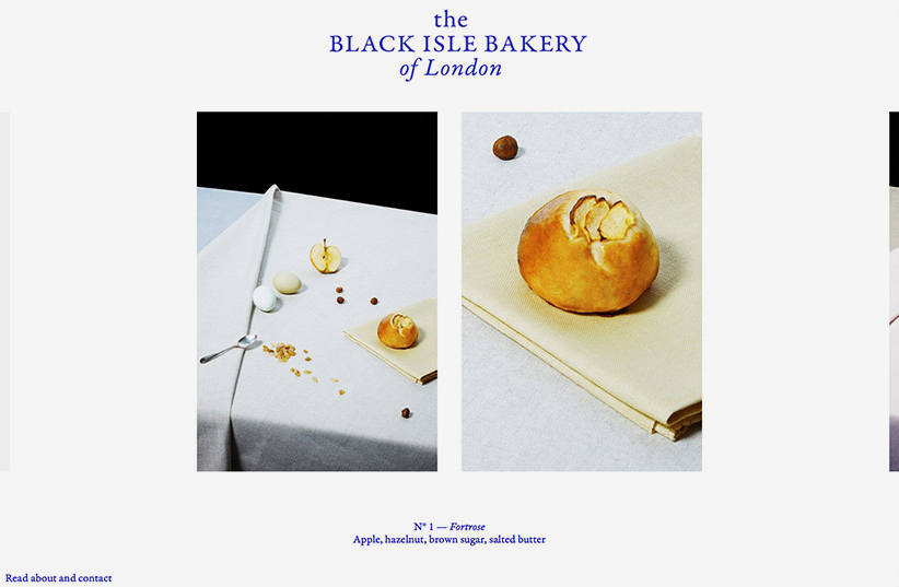 Black Isle Bakery, Website